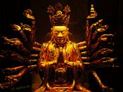 Golden Buddha Statue of Gold Buddhism Religion