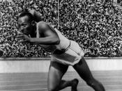 Jesse Owens shook racial stereotypes both with Nazis and segregationists in the USA at the 1936 Berlin Olympics.