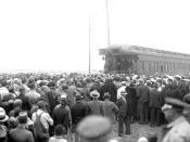 N_53_16_3687 Franklin D Roosevelt at Depot 1932