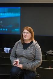 Emma Persky at BarCamp London 6.