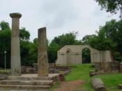 English: Old Alabama State Capital ruins in Tuscaloosa, AL.