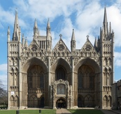 English: West front of Peterborough Cathedral