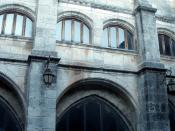 English: Claustro de la iglesia de San Estaban (Museo del Retablo), en Burgos (Castilla y León, España)