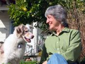 Photograph of Donna Haraway and Cayenne