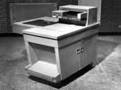 The Xerox 914 was the first one-piece plain paper photocopier, and sold in the thousands.