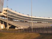 English: I took photo at Texas Motor Speedway with Canon camera.