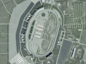 Texas Motor Speedway on NASA World Wind 1.3.5
