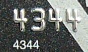 English: First 4 digits of a credit card