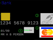 Version of an image of a credit card