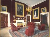 The Red Room during the administration of Theodore Roosevelt.