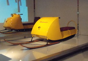 English: Bombardier second snowmobile prototype.