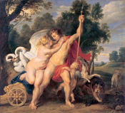 Peter Paul Rubens - Venus and Adonis - WGA20288