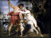 Peter Paul Rubens - Venus and Adonis - WGA20309