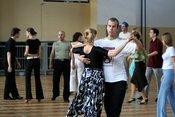 Ballroom dance lesson