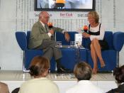 Deutsch: Luzia Braun im Gespräch mit Alfred Biolek auf dem