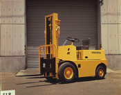Toyota's first lift truck