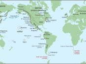 The Maritime Fur Trade system within a global context, about 1790 to 1840