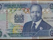 20 shilling note from 1994, depicting then-President Daniel arap Moi