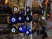 Nazars, charms used to ward off the evil eye.