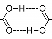 Dimers of carboxylic acids are often found in vapour phase.
