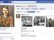 Hitler Facebook fan page