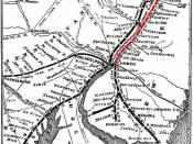 1869 Map of the Camden & Amboy Railway and associated lines