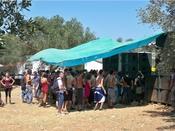 English: A Rave in Salento Italiano: Rave party nel Salento, i volti dei partecipanti sono stati resi irriconoscibili