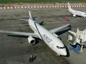 Boeing 737-858; El Al Israel Airlines; Warszawa - Okęcie / Frederic Chopin (WAW / EPWA) 03.05.07