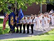 English: Maine Maritime Academy Regiment of Midshipmen