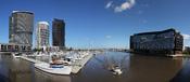 English: Bolte Bridge & ANZ Headquarter in Docklands, Melbourne