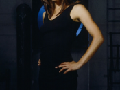 Sydney Bristow, the show's central character, is portrayed by Jennifer Garner