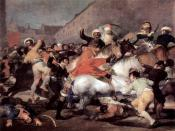 The Second of May, 1808: The Charge of the Mamelukes, by Francisco de Goya (1814).