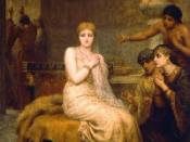 English: Vashti Refuses the King's Summons, painting by Edwin Long