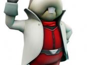 Peppy Hare, as he appears in Star Fox 64 3D.