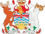 English: Coat of arms of British Columbia