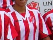 English: England footballer Jess Clarke