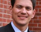 Photo of UK government minister David Miliband. Picture is a detail from a larger photograph taken on the 11th of April, 2007, in Hulme, Manchester, UK. - This photo should be used for the Wikipedia profile of David Miliband.