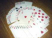 English: Typical Playing Cards. (An Anglo-American cards)