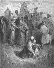 English: Ruth and Boaz (Ruth 2:2-20) Русский: Руфь и Вооз (Руфь 2:2-20)