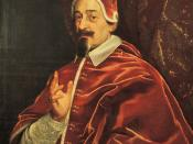 Fabio Chigi who was elected as Pope Alexander VII.