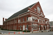 Ryman Auditorium, the Mother church of country, Nashville, Tennessee
