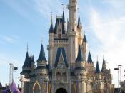 Cinderella Castle in the Magic Kingdom at Walt Disney World.