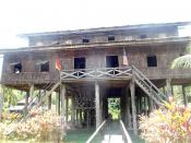 Malay's longhouse