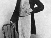 English: Photograph of Alfred Russel Wallace, taken in Singapore, 1862. Français : Photographie de Wallace prise à Singapour en 1862.