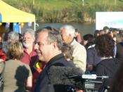 Mike Rann at National Sorry Day in Elder Park, Adelaide, for the apology to the stolen generations in February 2008.
