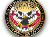 English: National Intellectual Property Rights Coordination Center Logo