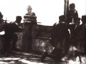 The National Revolutionary Army troops defending the Marco Polo Bridge, 1937