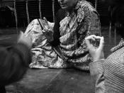 English: Gayatri Chakravorty Spivak at Goldsmiths College, University of London, 2007. Photo by Shih-Lun CHANG.