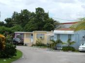 Sunnyside Trailer park in West Miami, Florida