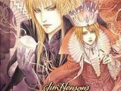 Cover of Jim Henson's Return to Labyrinth 1 (Aug, 2006). Art by Kouyu Shurei.